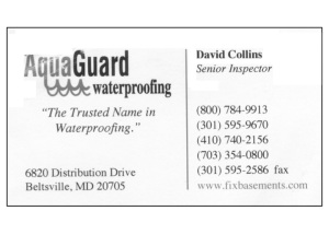 Collins Business Card Post