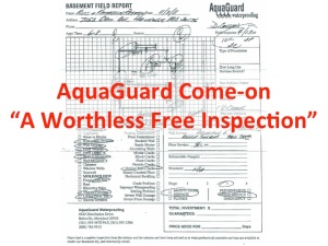 AquaGuard Worthless Inspection