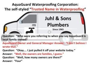 More AquaGuard Baloney