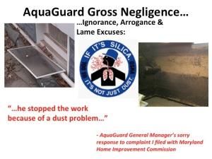 Silica Dust Hazard pic