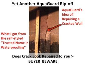 Luxury Aquaguard Basement Systems