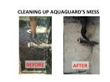 Removing Toxic Tar From Interior Walls